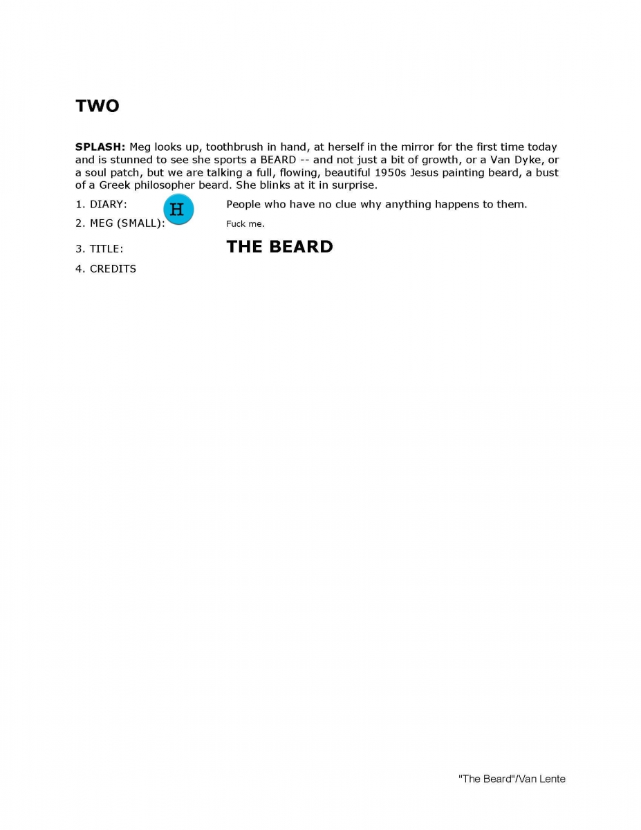 THE BEARD Page Two