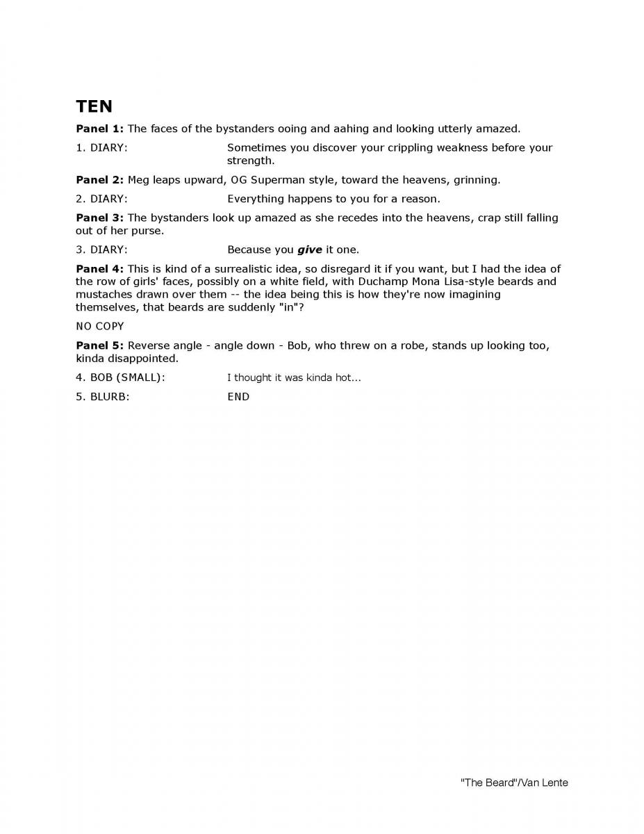 THE BEARD Page Ten