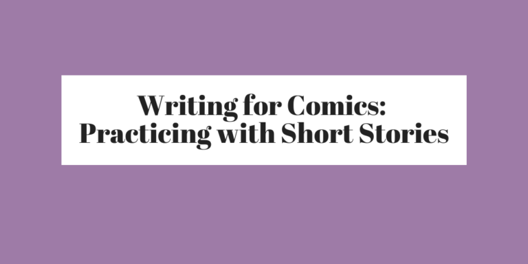 Writing for Comics banner